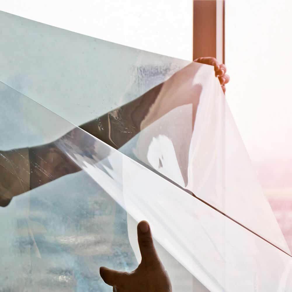 Beklebung Folien Schaufenster