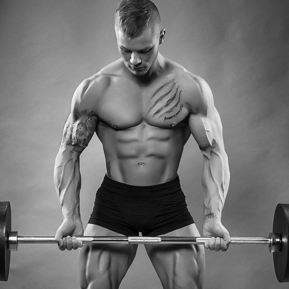 Sportler Personal Trainer Bodybuilding Fitness Yoga